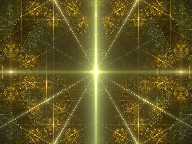 gold mystic aura energy